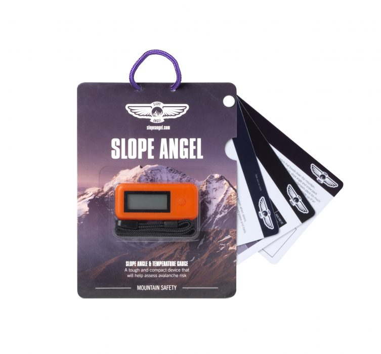 Slope Angel packaging and cue cards