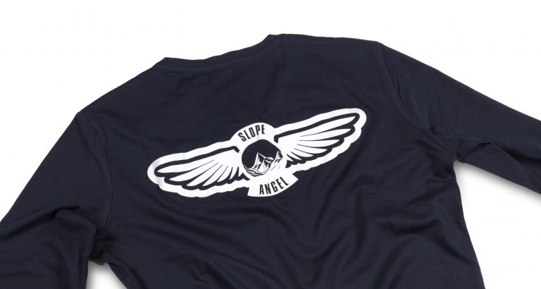 Slope Angel T-Shirt Back Detail